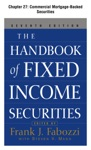 The Handbook Of Fixed Income Securities Chapter 27 - Commercial Mortgage-Backed Securities