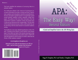 APA: The Easy Way! (for APA 6th edition)