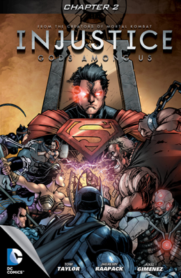 Injustice: Gods Among Us #2 - Tom Taylor, Jheremy Raapack & Axel Giminez book