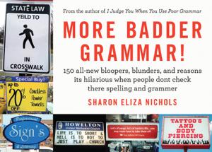 More Badder Grammar! Capa de livro