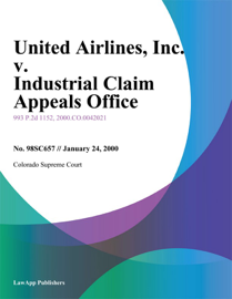 United Airlines book
