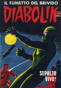 Diabolik #8 Copertina del libro