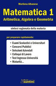 Matematica 1 Copertina del libro