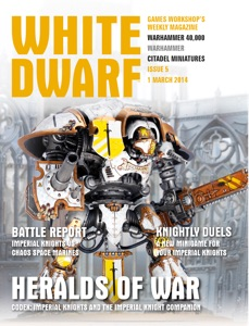 White Dwarf Issue 5: 1 March 2014 Book Cover