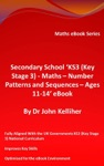 Secondary School KS3 Key Stage 3 - Maths  Number Patterns And Sequences  Ages 11-14 EBook