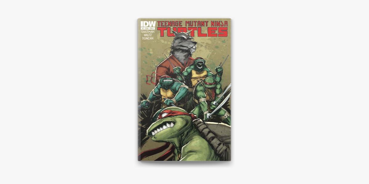 Teenage Mutant Ninja Turtles 2 Tom Waltz Kevin Eastman Dan Duncan