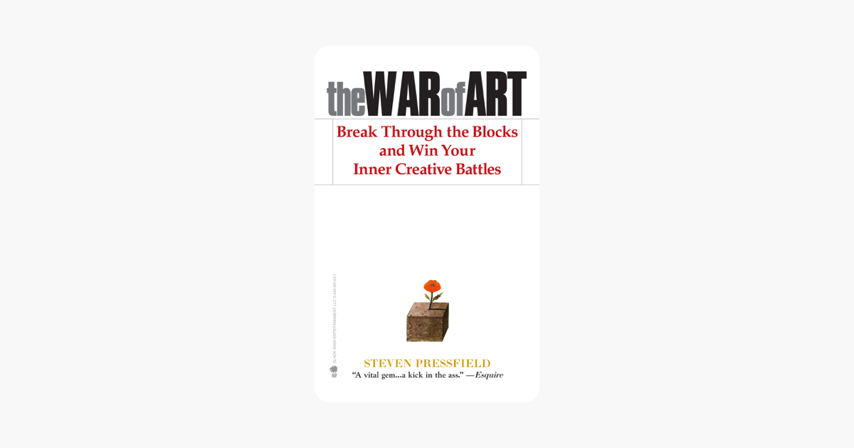 The War of Art - Steven Pressfield & Shawn Coyne