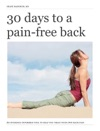 30 Days To A Pain-free Back