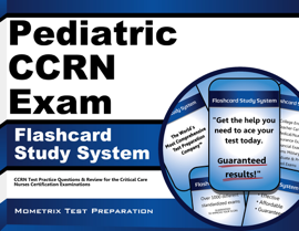 Pediatric CCRN Exam Flashcard Study System: book