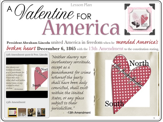 Lesson Plans America is in the Heart