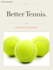 Peter Heywood - Better Tennis ilustración