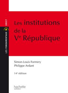 Les Institutions de la Ve République Copertina del libro