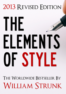 The Elements of Style (2013 Updated and Revised Edition) Cover Book