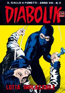 DIABOLIK (139) Libro Cover