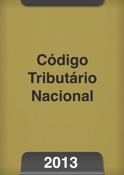 Código tributário nacional 2013