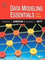 Data Modeling Essentials (Enhanced Edition) ebook Download