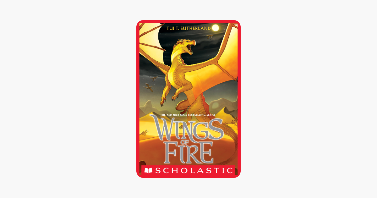 Wings of Fire Book 5: The Brightest Night - Tui T. Sutherland