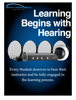 Audio Enhancement, Inc. - Learning Begins with Hearing artwork