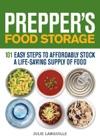Preppers Food Storage