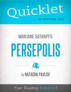 Quicklet on Marjane Satrapi's Persepolis Libro Cover