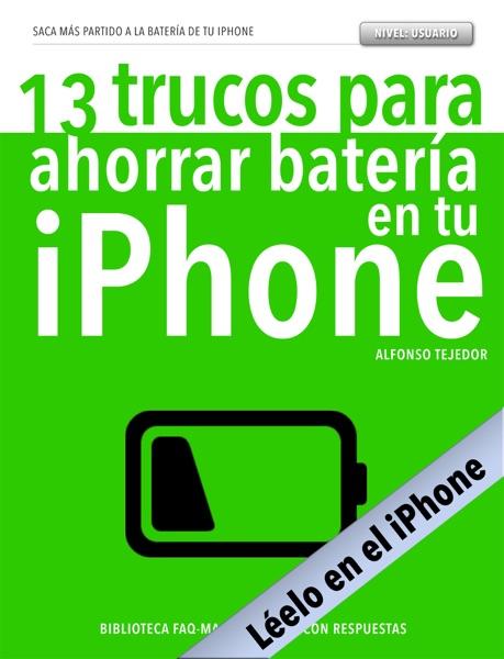 13 trucos para ahorrar batería en tu iPhone - versión para iPhone