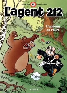 L'Agent 212 – tome 15 - L'appeau de l'ours La couverture du livre martien
