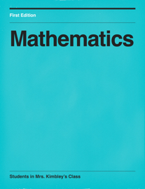 Mathematics book