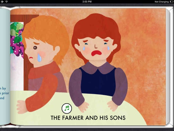 The Farmer and his Sons (Read To Me and Interactive)