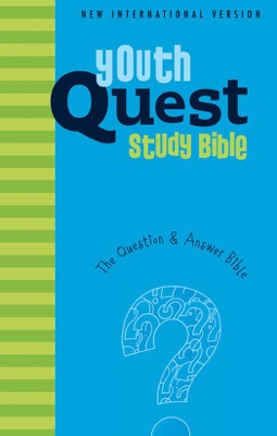 NIV, Youth Quest Study Bible