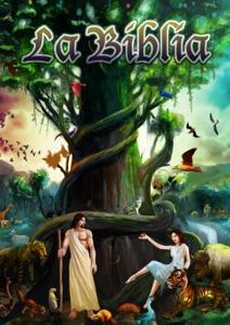 La biblia reina valera con ilustraciones Book Cover