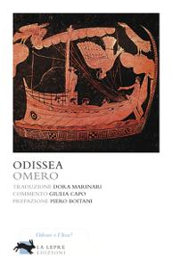 Odissea Copertina del libro
