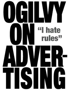 Ogilvy on Advertising Boekomslag