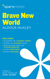 Brave New World SparkNotes Literature Guide book