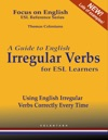 A Guide To English Irregular Verbs For ESL Learners