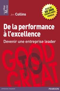 De la performance à l'excellence Couverture de livre