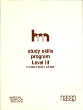 Study Skills Program Level III