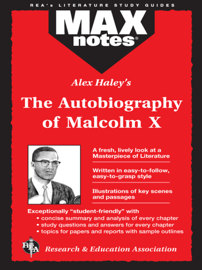 The Autobiography of Malcolm X as told to Alex Haley (MAXNotes Literature Guides) book