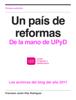 Javier Díaz Rodríguez - Un pais de reformas (2011) ilustración