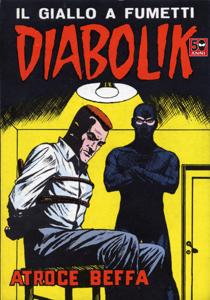 DIABOLIK #34 Libro Cover
