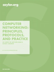 Computer Networking: Principles, Protocols, and Practice