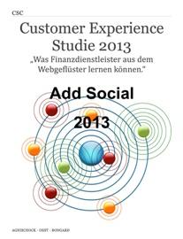 Customer Experience Studie 2013