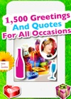 1500 Greetings And Quotes For All Occasions