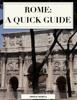 Gregg Mojica - Rome: A Quick Guide portada