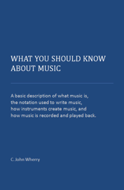 What You Should Know About Music book