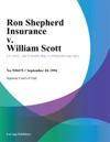 092094 Ron Shepherd Insurance V William Scott