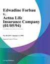 Edwadine Forbau V Aetna Life Insurance Company