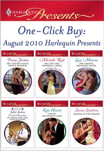Penny Jordan, Michelle Reid, Lucy Monroe, Kate Hewitt & Susan Stephens - One-Click Buy: August 2010 Harlequin Presents
