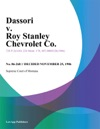 Dassori V Roy Stanley Chevrolet Co