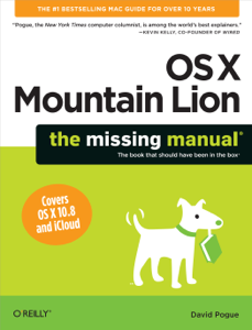 OS X Mountain Lion: The Missing Manual ebook