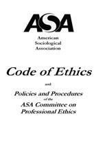 ASA Code Of Ethics